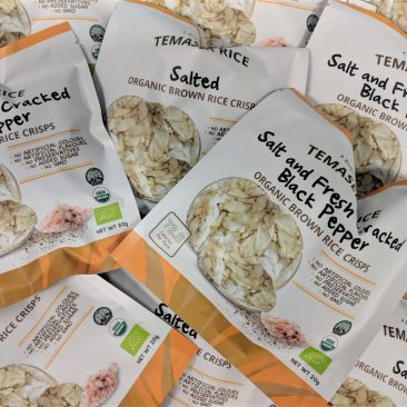 Temasek Organic Brown Rice Crisps